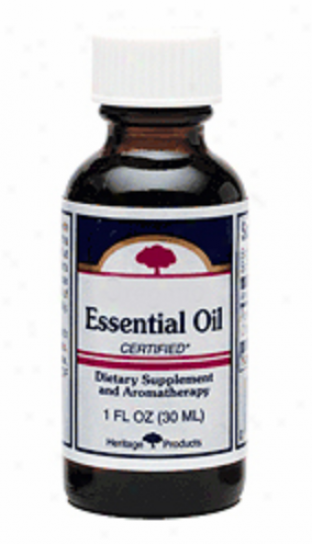 Heritage Products Peppermint Essential Oil 4 Fl Oz
