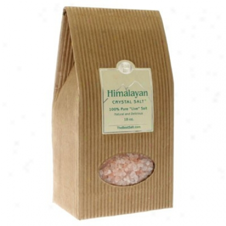 Himalayan Salt's Crystal Coarse For Salt Mill 18oz