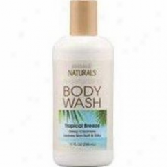 Hobe Labs Natturals Body Wash Tropical Breeze 10oz