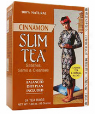 Hobe Labs Slim Tea Cinnamon 24 Bags
