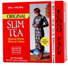 Hobe Labs Slim Tea Economy Pack 60 Bags