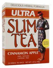 Hobe Labs Ultra Slim Tea Cinnamon Apple 24 Bags