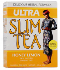 Hobe Labs Ultra Slim Tea Honey-lemon 24 Bags