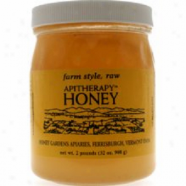 Honey Garden Apiaries Apitherapy Raw Honey 2l6