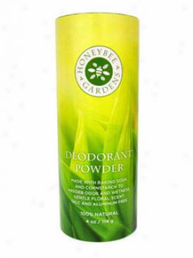 Honeybee Gardens Deodorant Powdef 4oz