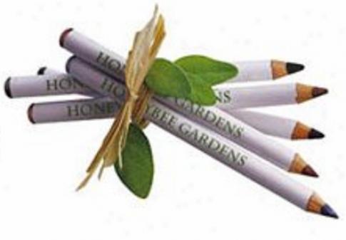 Honeybee Gardens Eye Liner Pencil Blue Jeans 0.04oz