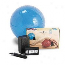 Hugger Mugger Yoga Product's Yoga On The Ball Kit 1kit