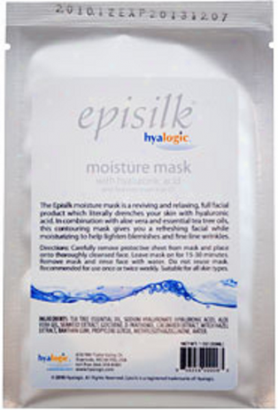 Hyalogic's Episilk Moisture Mask With Tea Tree Oil 0.5oz