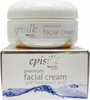 Hyaloyic's Episilk Premium Facial Cream W/ Pure Hyaluronic Acid  2oz