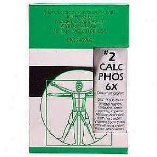 H6land's Nuage Tissue Salts #2 Calcarea Phosphorica 6x 115tabs 50% Off