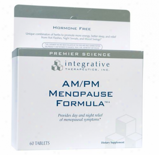Integrative Therapeutic's Am/pm Menopause Formula 60 Tabs