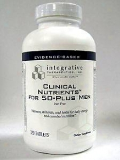 Integrative Therapeutic's Clinical Nutrients Against 50-plus Men 120 Tabs