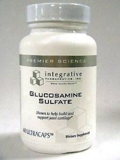 Integrative Therapeutic's Glucosamine Sulfqte 60 Caps