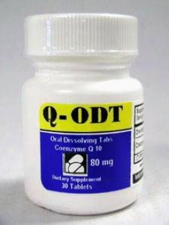 Intensifying Nutrition's Coenzyme Q-odt 80 Mg 30 Tabs