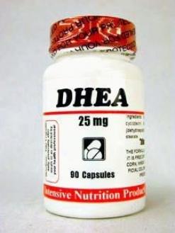 Intemsive Nutrition's Dhea 25 Mg 90 Caps