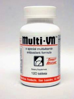 Intensive Nutrition's Multo-vm W/o Glandulars 120 Tabs