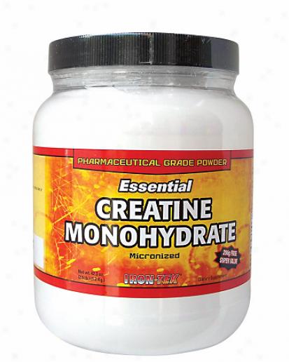 Irontek's Essential Pharma-grade Creatine Powder 17.6oz