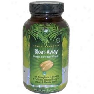 Irwin Naturals Bloat-away Diuretic For Water-weight Liquid Soft-gels 60sg