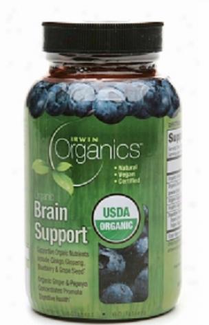 Irwin Naturals Irwin Organics Brain Support 60tabs