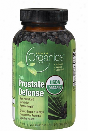 Irwin Naturals Organic Daioy Prostate Defense 60tabs