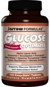Jarrow's Glucose Optimizer 120tabs