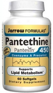 Jarrow's Pantethine 450mg 60sg
