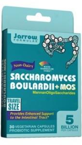 Jarrow's Saccharomyces Boulardii + Mos 30vcaps