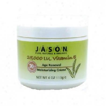 Jason's Beauty Oil Vitamin E-25000 Cream 4oz