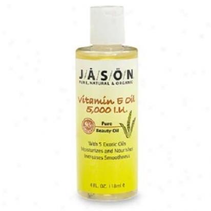 Jason's Beauty Oil Vitamin E-5000 Oil 4oz