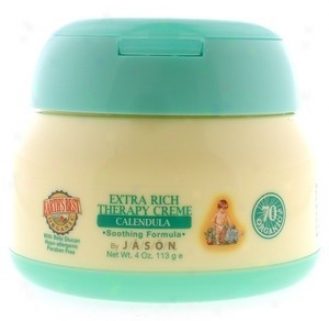Jason's Best Extra Rich Therap Creme Calendula 4oz