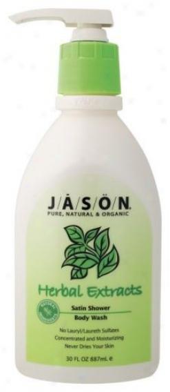 Jason's Body Stain Herbal Satin Shower 30oz