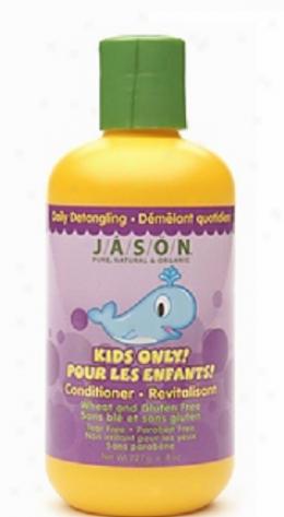 Jason's Conditioner Kids Only Diurnal Detangling 8 Fl Oz