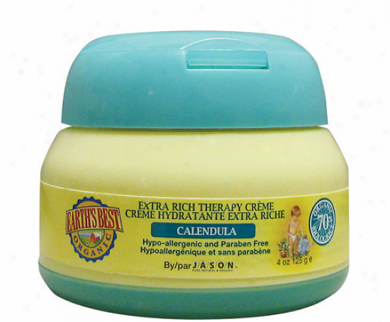 Jason's Earth's Most good Extra Rich Therapy Creme Calendula 4oz