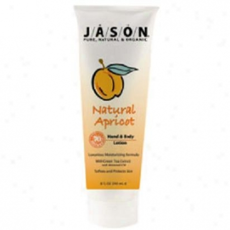 Jason's Hand & Body Lotion Apricot 8oz
