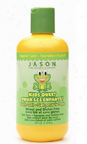 Jason's Kids Ono Tropical Twist Bath Gel 8 Fl Oz