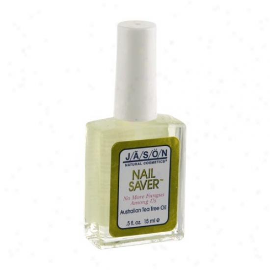 Jason's Tea Tree Oil Nail Saver No Fungs .5oz