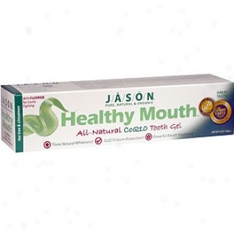Jason's Toothpaste Healthy Mouth+coq10 Gel 6oz
