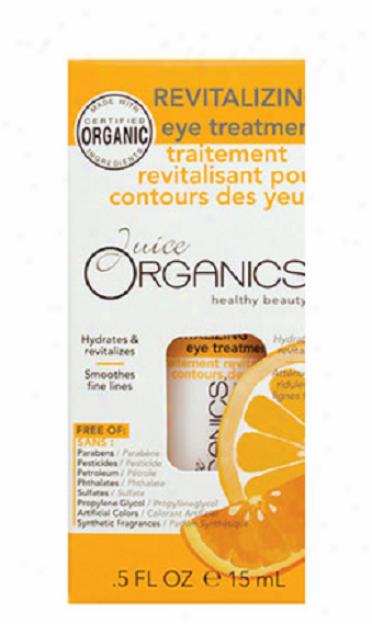 Juice Organics Revitalizing Eye Trewtment 0.5 Fl Oz