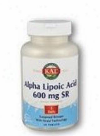 Kal's Alpha Lipoic Acid Sr 600mg 60tabs