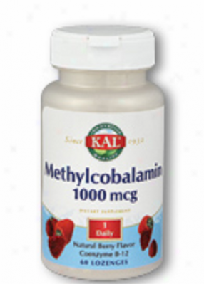 Kal's Methylcobalamin 5000mcg Chewable 60tabs