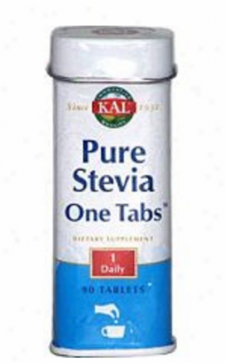 Kal's Pure Stevia One Tabs Unflavored 90tabs