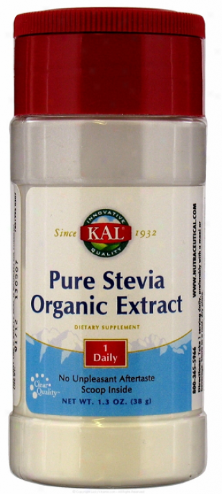 Kal's Modest Stevia Ofganic Extract  1.3 Oz