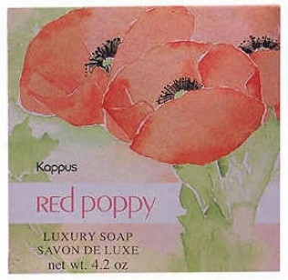 Kappus's Soap Red Poppy 4.2oz