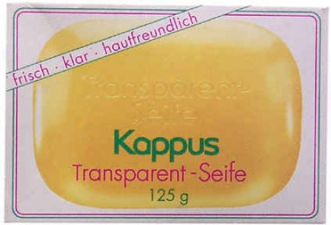 Kappus's Soap Tfansparrnt 4.2oz