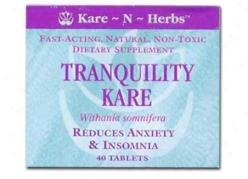 Kare-n-herb's Tranquility Kare 40tabs