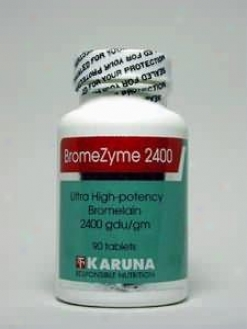 Karuna Corporation's Bromezyme 2400 500 Mg 90 Tabs