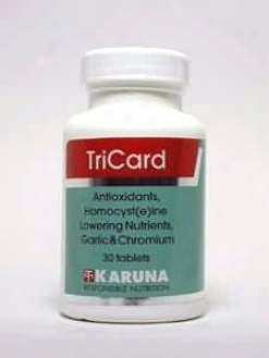 Karuna Corporation's Tricard 30 Tabs