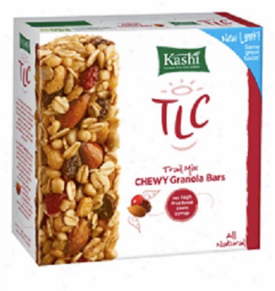 Kashi's Tlc Chewy Granola Bars Trail Mix 6x1.2oz