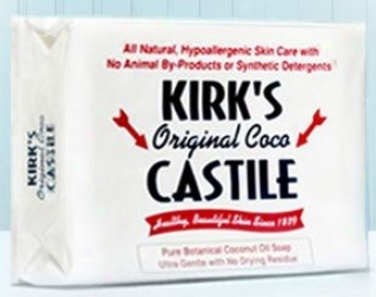 Kirk's Natural's Bar Sopa Original Castile 4oz