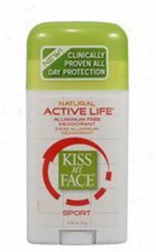 Kiss My Face's Deodorant Sport Pf Active Life 2.48oz